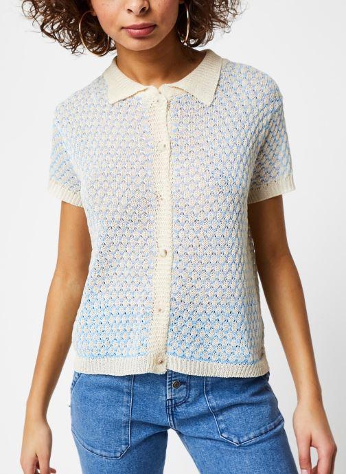 Vêtements Garance CHEMISE DIXI Bleu vue droite