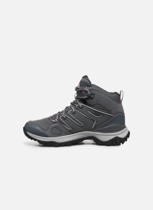 Zapatillas de deporte The North Face Hedgehog Fastpack II Mid Wp Gris vista de frente