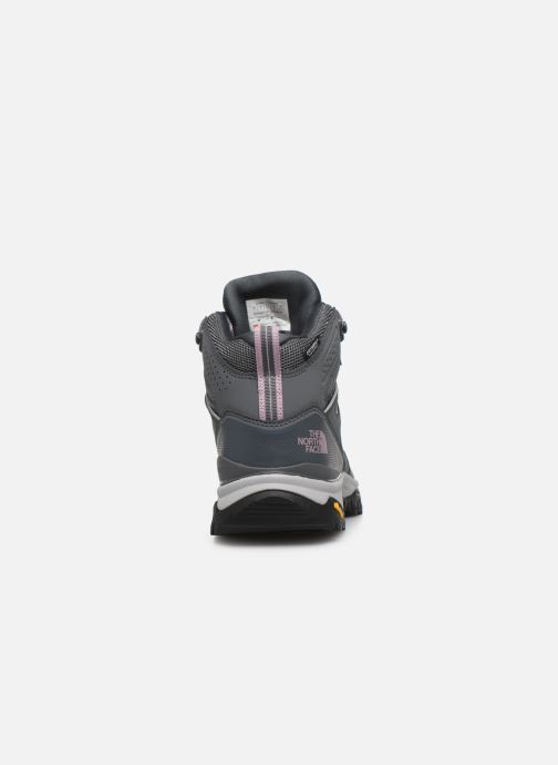 Zapatillas de deporte The North Face Hedgehog Fastpack II Mid Wp Gris vista lateral derecha