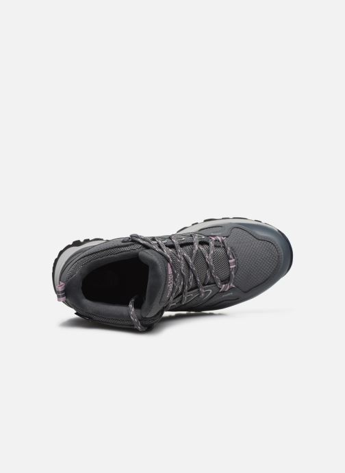 Zapatillas de deporte The North Face Hedgehog Fastpack II Mid Wp Gris vista lateral izquierda