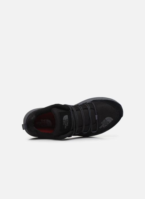 Zapatillas de deporte The North Face Mountain Sneaker II Negro vista lateral izquierda