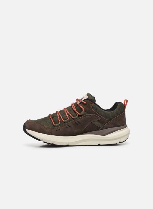 Chaussures de sport The North Face Mountain Sneaker II Vert vue face