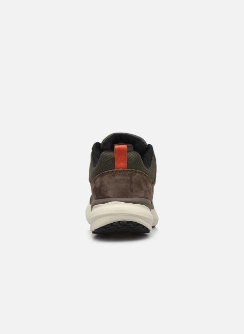 Chaussures de sport The North Face Mountain Sneaker II Vert vue droite