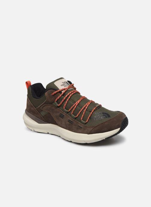 Chaussures de sport The North Face Mountain Sneaker II Vert vue détail/paire