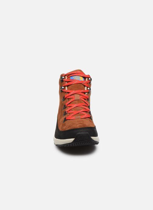 Zapatillas de deporte The North Face Back-To-Berkeley Redux Remtlz Lux Marrón vista del modelo