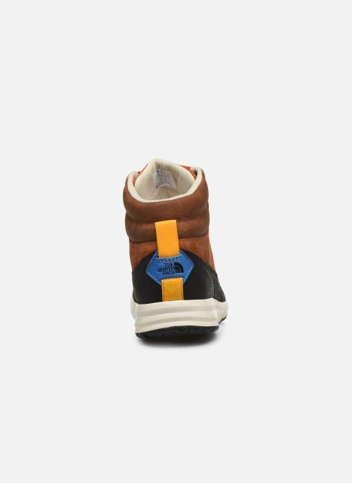 Zapatillas de deporte The North Face Back-To-Berkeley Redux Remtlz Lux Marrón vista lateral derecha