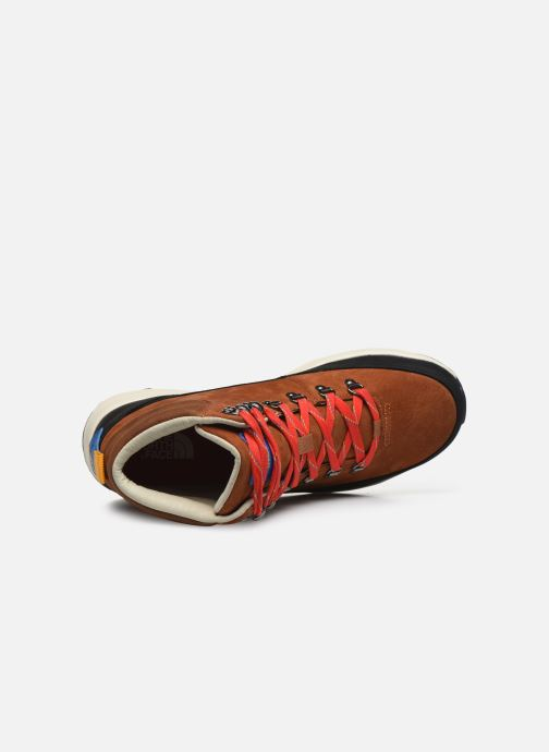 Zapatillas de deporte The North Face Back-To-Berkeley Redux Remtlz Lux Marrón vista lateral izquierda