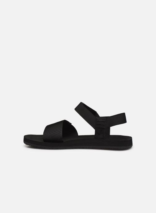 Sandalen The North Face Skeena Sandal Zwart voorkant