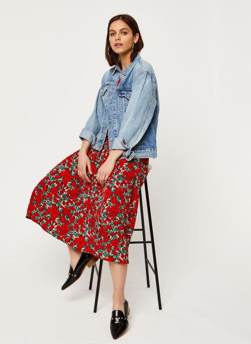 Vêtements Louche Robe Avril Zinnia Rouge vue bas / vue portée sac