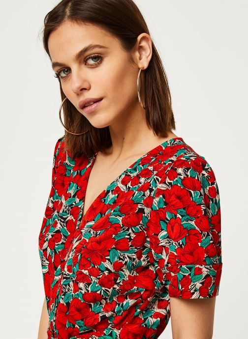 Vêtements Louche Robe Avril Zinnia Rouge vue face