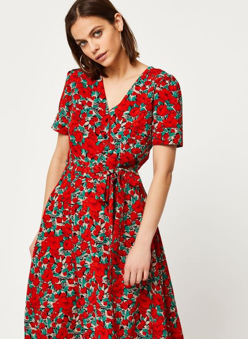 Vêtements Louche Robe Avril Zinnia Rouge vue droite