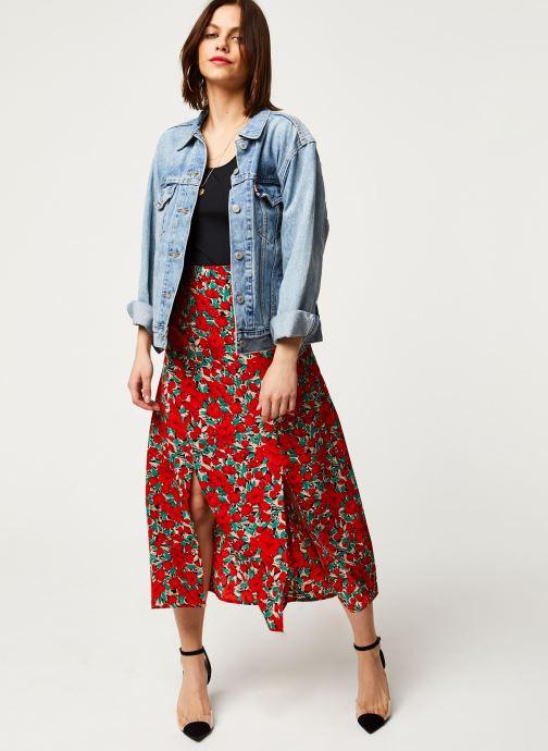 Vêtements Louche Jupe Nicolette Zinnia Rouge vue bas / vue portée sac