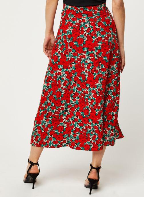 Vêtements Louche Jupe Nicolette Zinnia Rouge vue portées chaussures