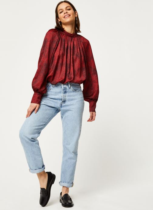 Vêtements Louche Blouse Harmony Fleck Rouge vue bas / vue portée sac
