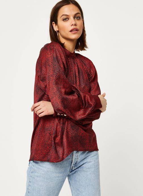 Vêtements Louche Blouse Harmony Fleck Rouge vue droite