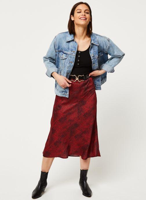 Vêtements Louche Jupe Tehani Fleck Rouge vue bas / vue portée sac