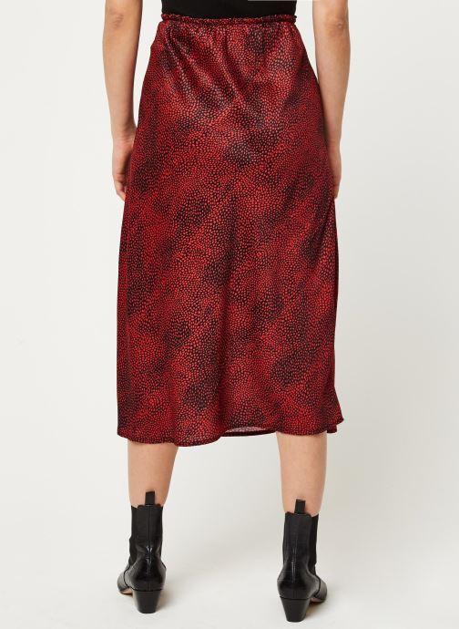 Vêtements Louche Jupe Tehani Fleck Rouge vue portées chaussures