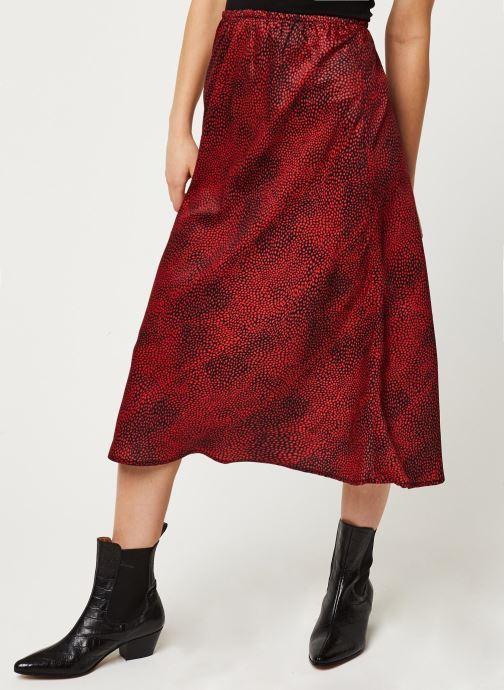 Vêtements Louche Jupe Tehani Fleck Rouge vue détail/paire