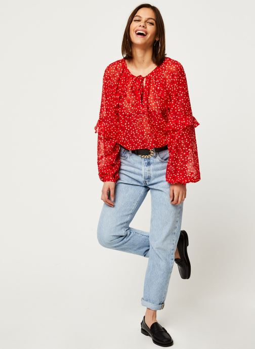 Vêtements Louche Blouse Alba Cupid Rouge vue bas / vue portée sac