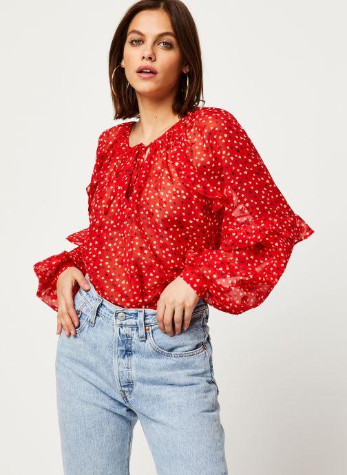 Vêtements Louche Blouse Alba Cupid Rouge vue détail/paire