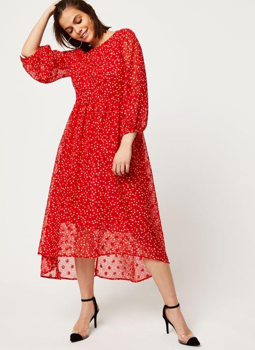 Vêtements Louche Robe Veronique Cupid Rouge vue bas / vue portée sac