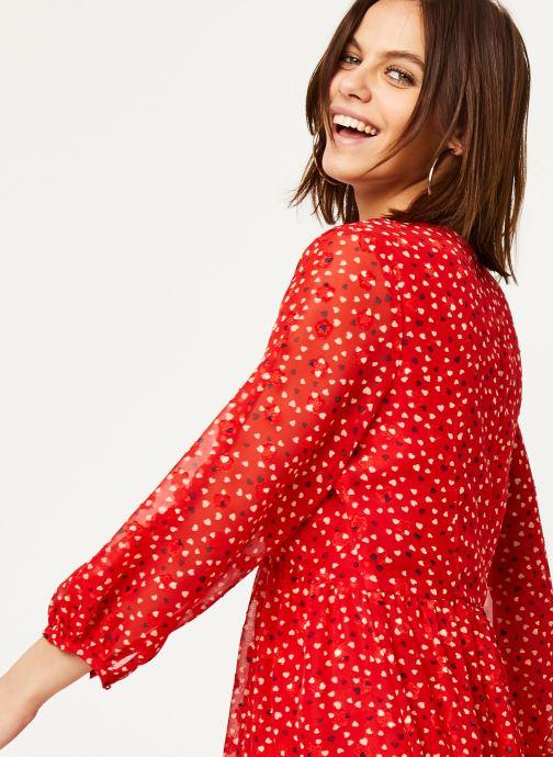 Vêtements Louche Robe Veronique Cupid Rouge vue face