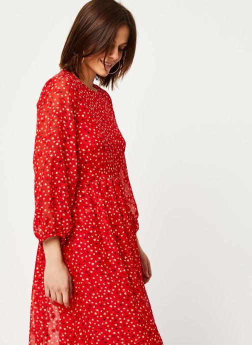 Vêtements Louche Robe Veronique Cupid Rouge vue droite