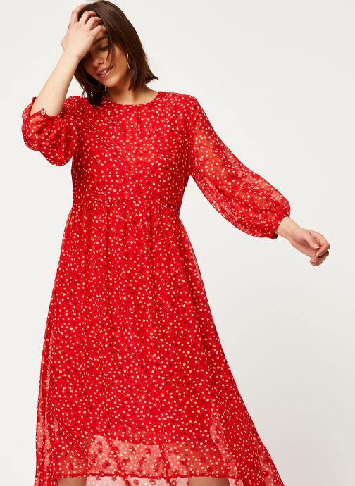 Vêtements Louche Robe Veronique Cupid Rouge vue détail/paire