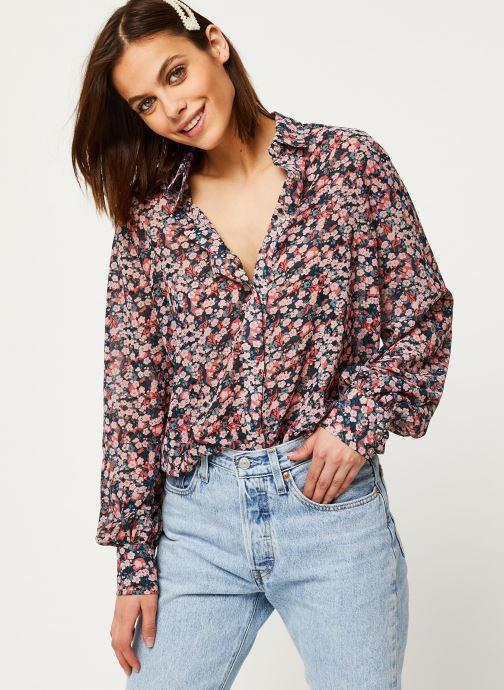 Vêtements Louche Blouse Byron Cherryblossom Rose vue détail/paire