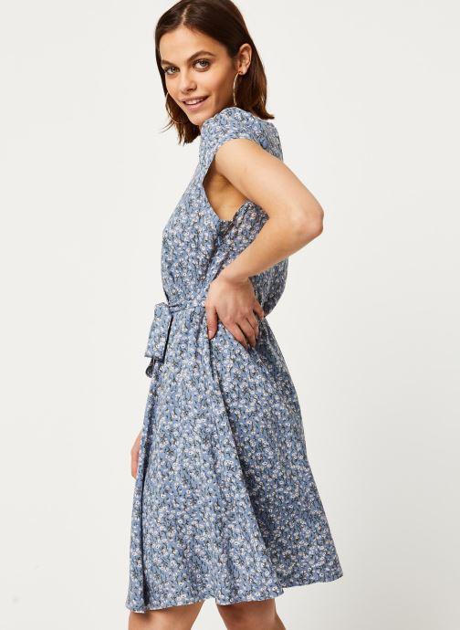 Tøj Louche Robe Cathleen Flax Blå Se fra højre