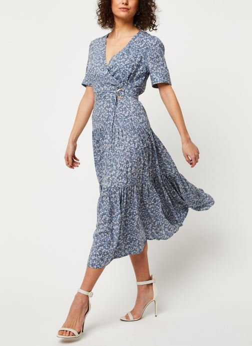 Vêtements Louche Robe Emin Flax Bleu vue bas / vue portée sac