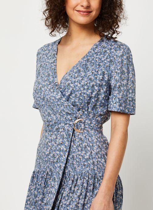 Vêtements Louche Robe Emin Flax Bleu vue face
