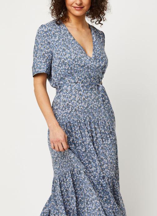 Vêtements Louche Robe Emin Flax Bleu vue droite