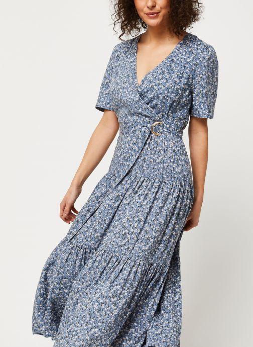 Vêtements Louche Robe Emin Flax Bleu vue détail/paire