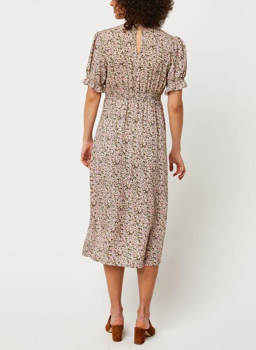 Vêtements Louche Robe Corina Primrose Rose vue portées chaussures