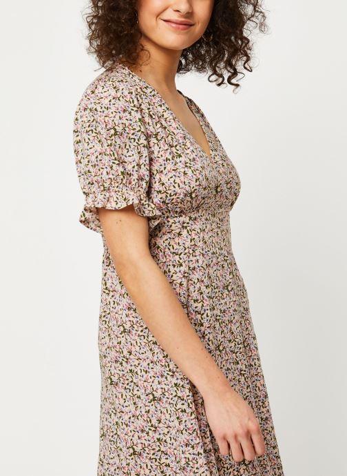 Vêtements Louche Robe Corina Primrose Rose vue face
