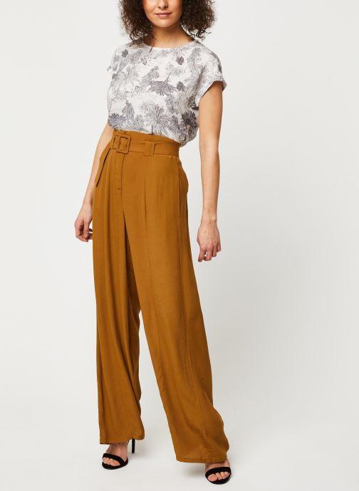 Vêtements Marie Sixtine Pants Eloi Or et bronze vue bas / vue portée sac