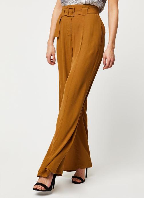 Vêtements Marie Sixtine Pants Eloi Or et bronze vue détail/paire
