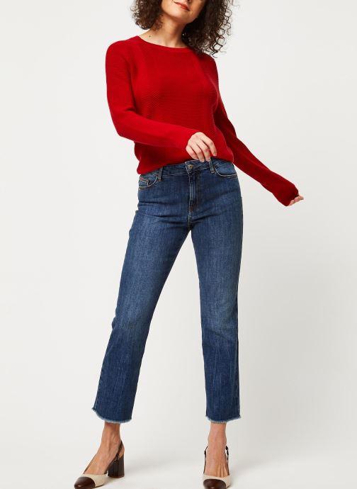 Vêtements Marie Sixtine Sweater Samira Rouge vue bas / vue portée sac