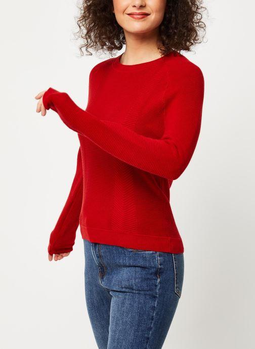 Vêtements Marie Sixtine Sweater Samira Rouge vue droite