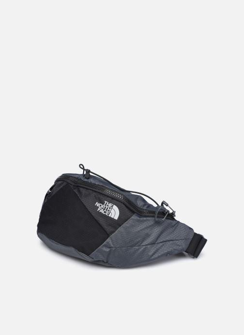 Borse The North Face Lumbnical - S Grigio modello indossato