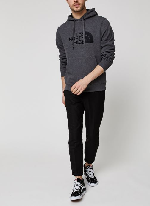The North Face Drew Peak Pullover Hoodie (Gris) - Vêtements (439122)