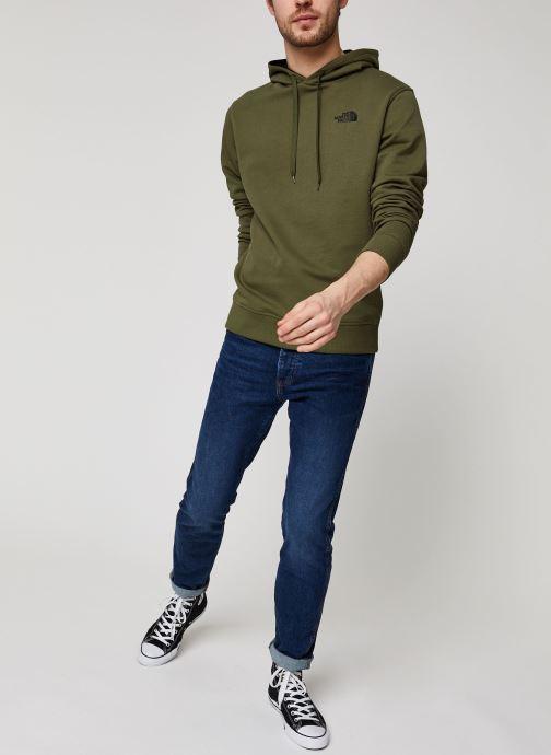 Vêtements The North Face Drew Peak Pullover Light Vert vue bas / vue portée sac