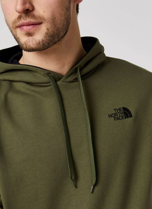 Vêtements The North Face Drew Peak Pullover Light Vert vue face