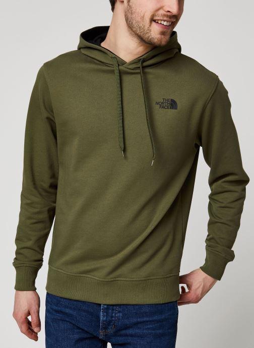 Vêtements The North Face Drew Peak Pullover Light Vert vue droite