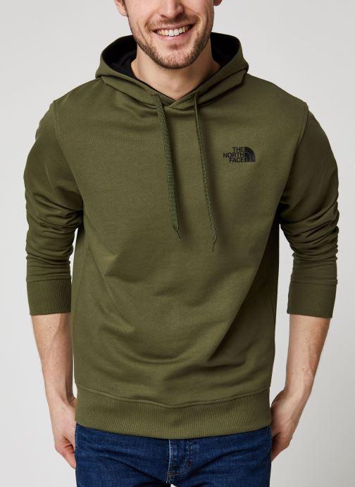 Vêtements The North Face Drew Peak Pullover Light Vert vue détail/paire