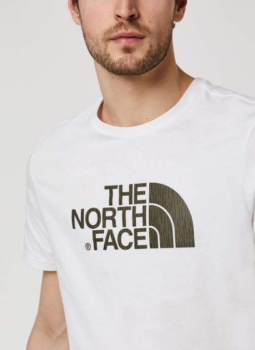 Vêtements The North Face Easy Tee Blanc vue face