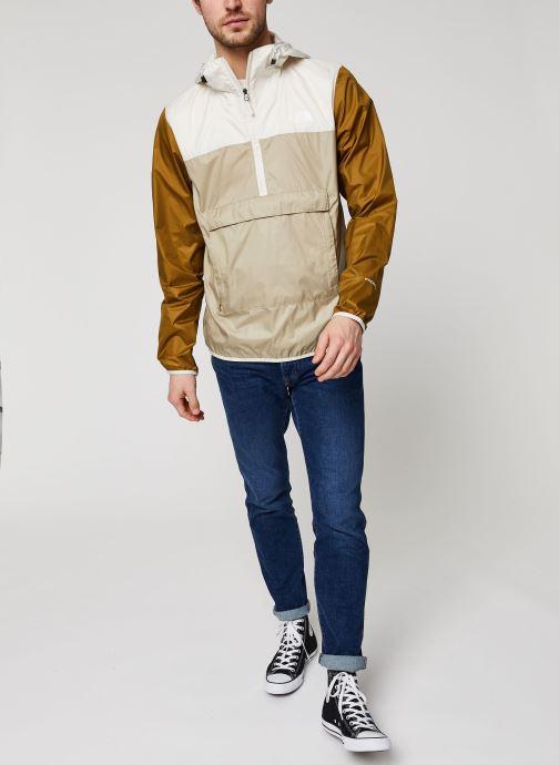 Vêtements The North Face Fanorak Beige vue bas / vue portée sac