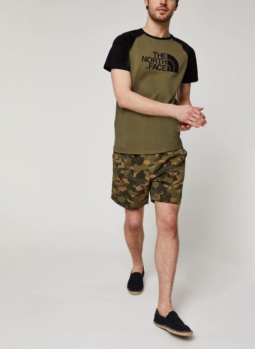 Vêtements The North Face Class V Pull On Trunk Vert vue bas / vue portée sac