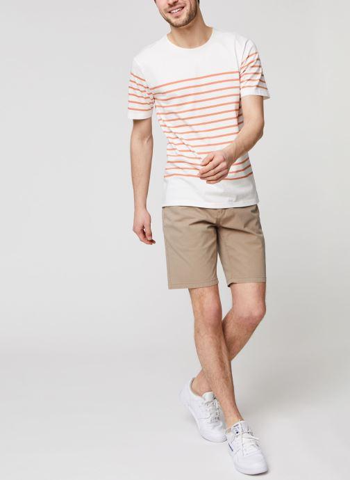 Vêtements Minimum Balser 6779 Blanc vue bas / vue portée sac